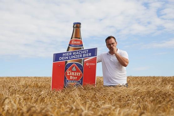 Regionaler Anbau Linzer Bier