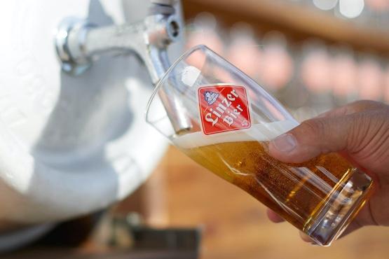 Linzer Bier Zapfhahn