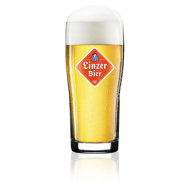 Linzer Bier Glas