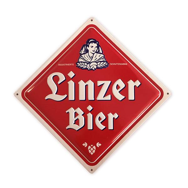 Linzer Bier Schild